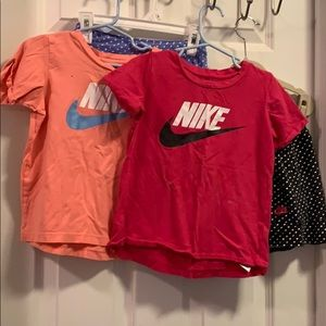 Two sets Nike T shirt/Skort combos Play condition